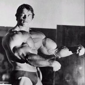 arnold huge arms